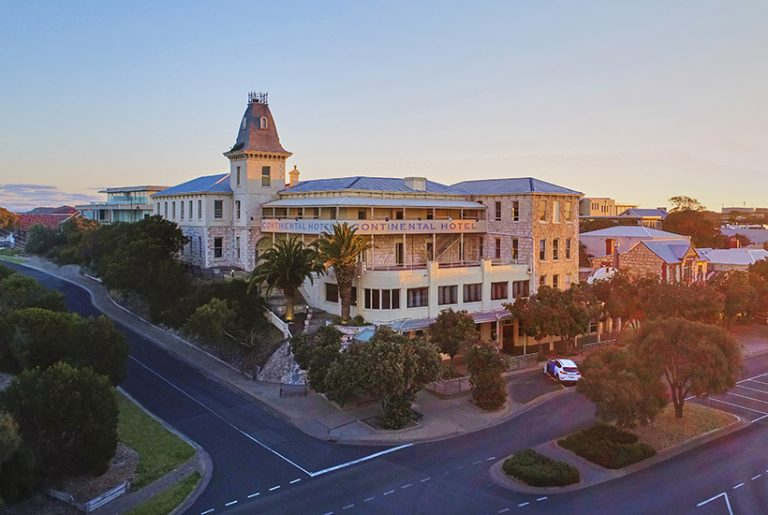 Sorrento's Continental Hotel back on the market