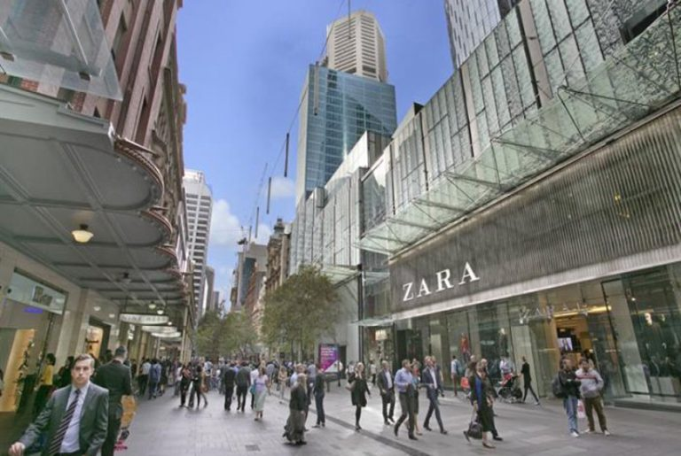 Pitt Street Mall among world's most expensive retail strips