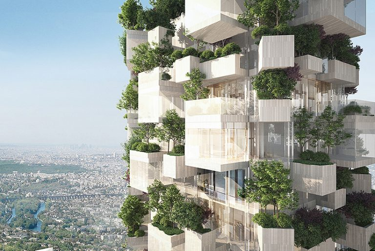 Paris the latest to embrace trees on buildings