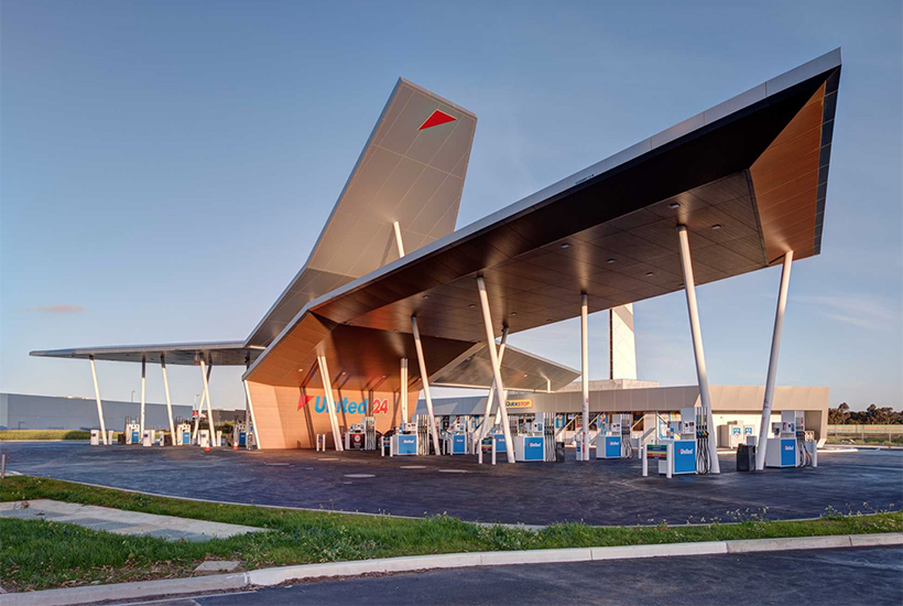 United service station Corio Geelong