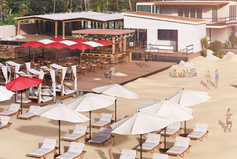 Virgin to open a departure lounge on the beach