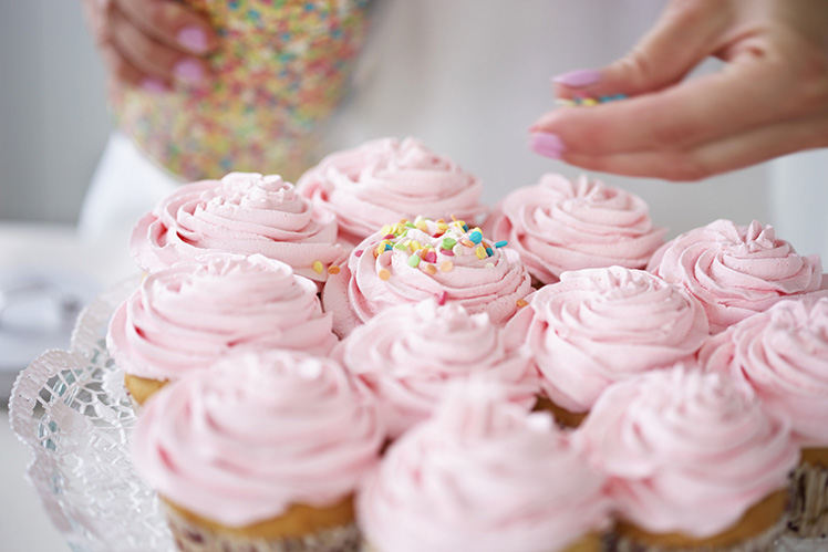 Are you a pro in the kitchen?  Turn a passion for baking into a home catering business. Picture: Getty