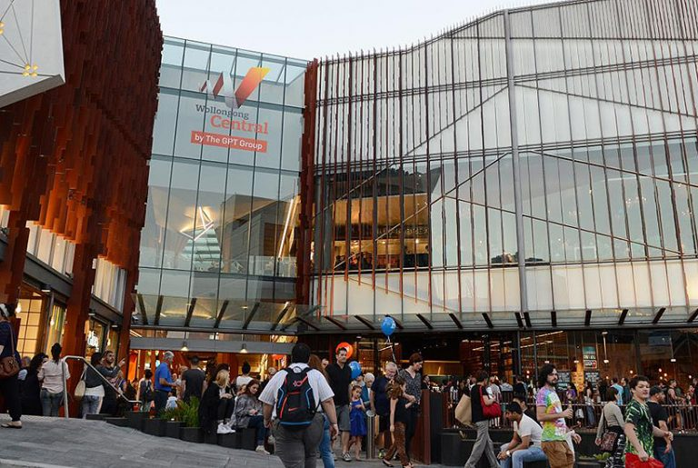 Owner chasing $500m for Wollongong Central