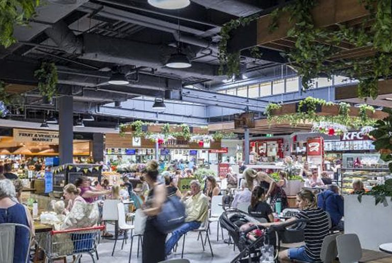 Shopping centres launch food fight against Amazon
