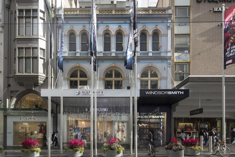 The building at 274-278 Bourke St, Melbourne, has a price tag of more than $40 million.