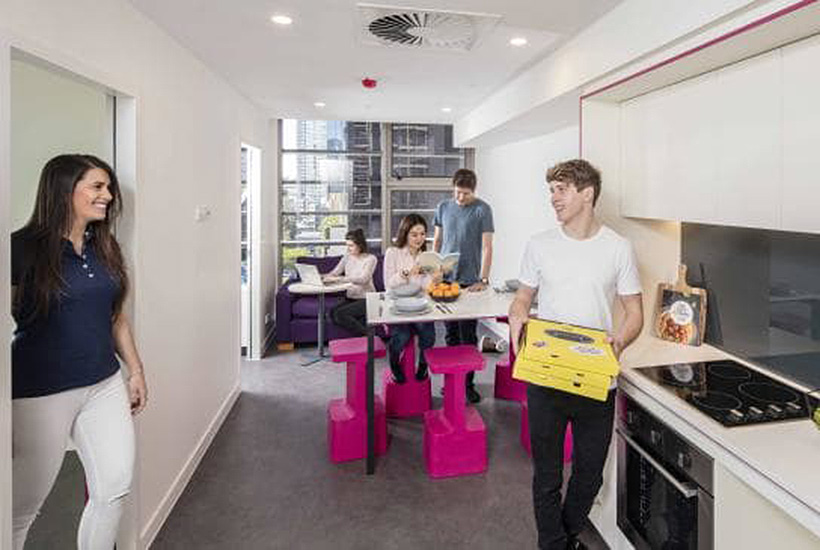Major investors giddy over student accommodation