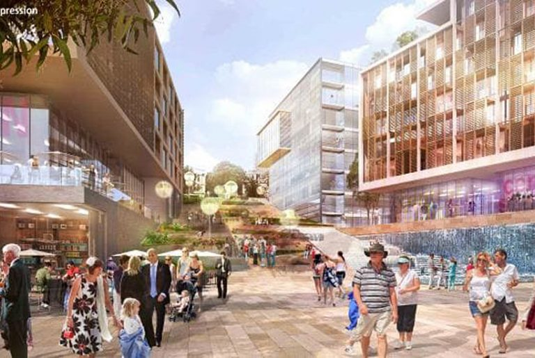 Grocon fights to keep Barangaroo plans secret