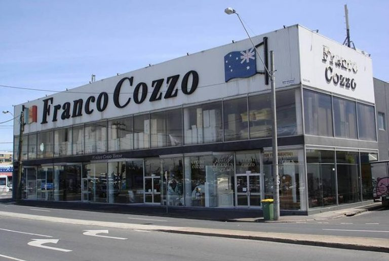 Franco Cozzo sells iconic Footscray store in ultimate 'grand sale'
