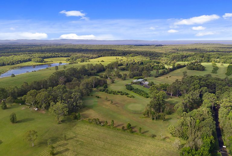 Australia's only organic golf course teed up for sale