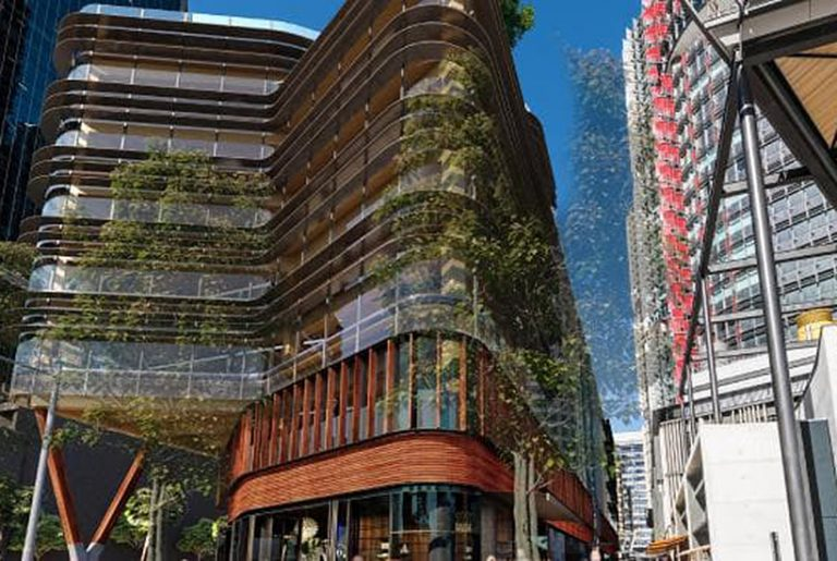Barangaroo timber office sells for $250m