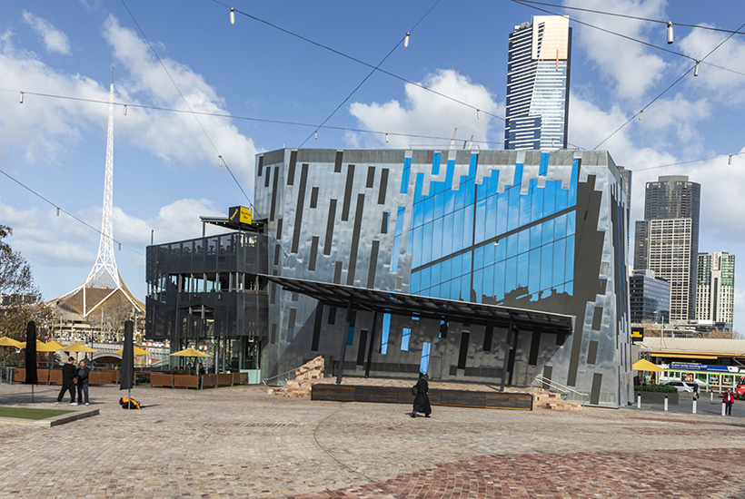 New $5.4m screen revealed at Federation Square