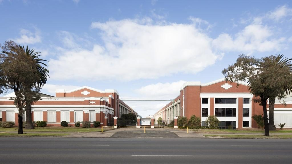 Ford's historic Geelong factory.