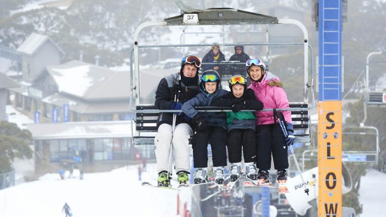 Take home one of Mt Buller's Blue Bullet lift chairs