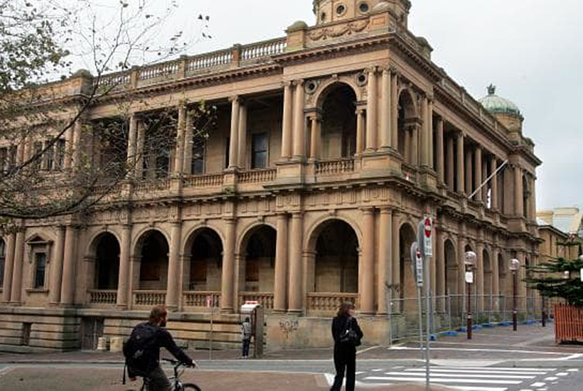 The former Newcastle Post Office has a new owner. Picture: Robert McKell.