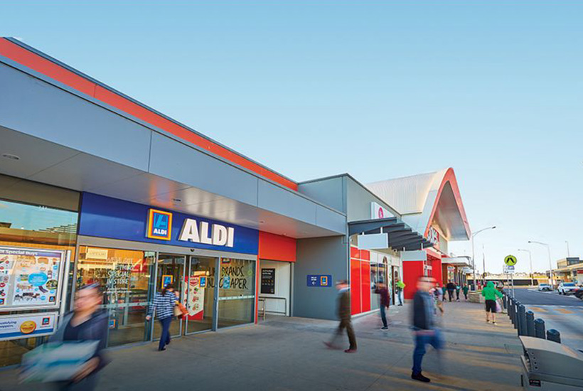 Bag A Coles And Aldi In One Big Buy