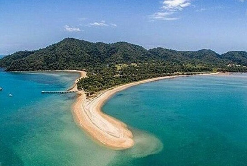 Dunk Island from above. Picture: Isabelle Dore
