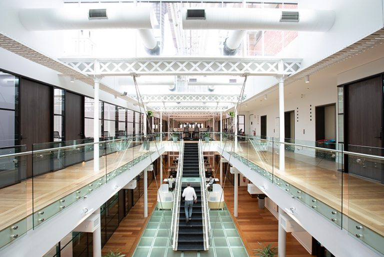 Hub's stunning Collins St co-working space revealed