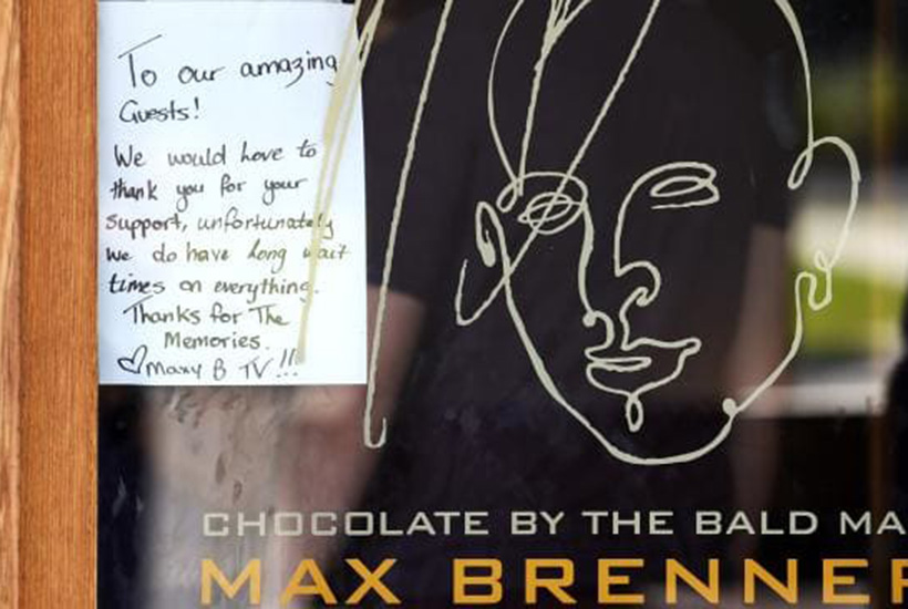 Max Brenner chocolate Townsville