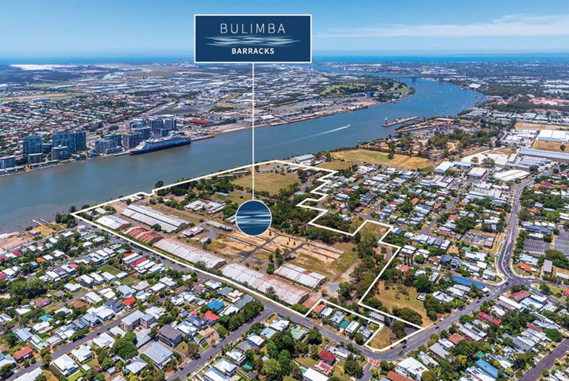 Brisbane's Bulimba Barracks site up for sale