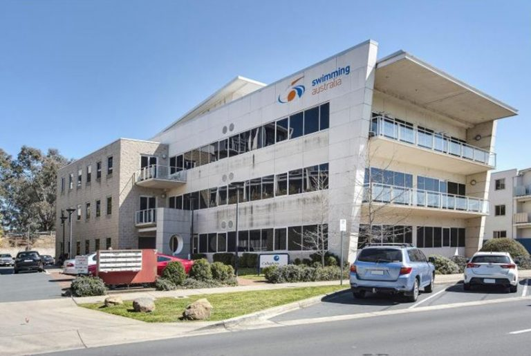 Chance to dip toe in former Swimming Australia offices