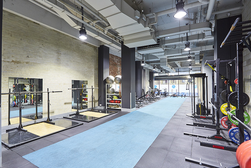 The space on the ground floor at 199 William St currently operates as a gym.