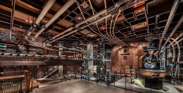Starbucks' New York Roastery is like a Willy Wonka coffee factory