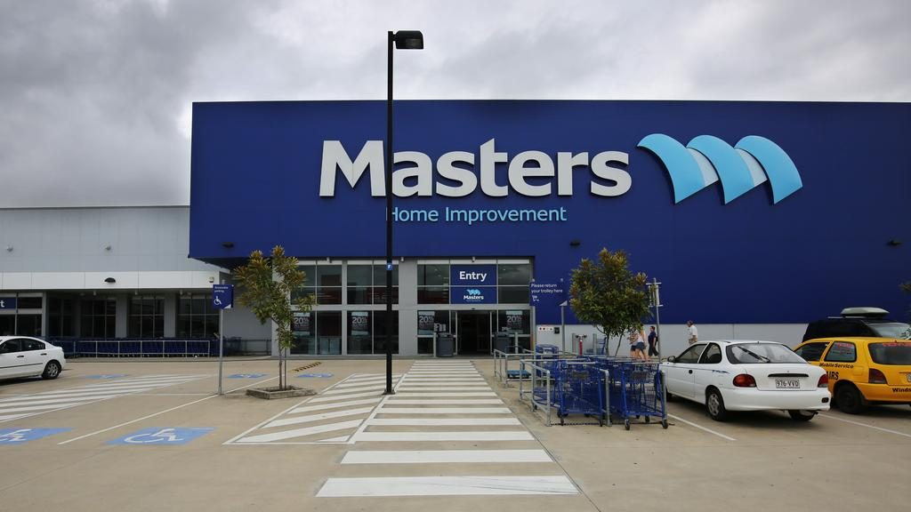 The Masters Home Improvement building in Cairns, taken just before it shut its doors for good. PICTURE: BRENDAN RADKE