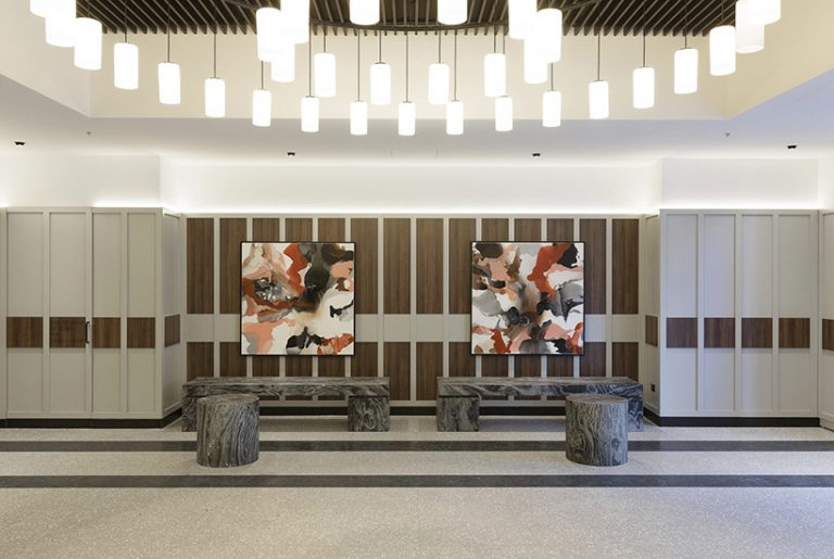 How 750kg marble blocks shaped new Quay West lobby