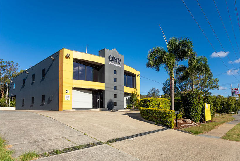 The office building at 42 Siganto Drive in Helensvale.