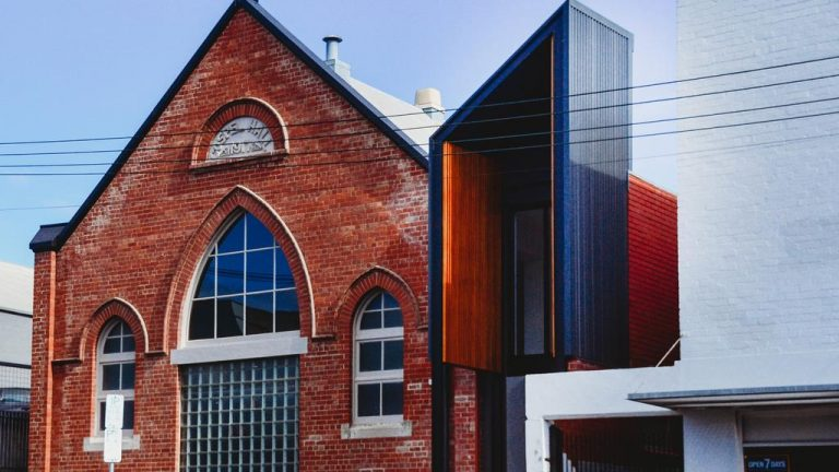Hobart church's stunning office conversion