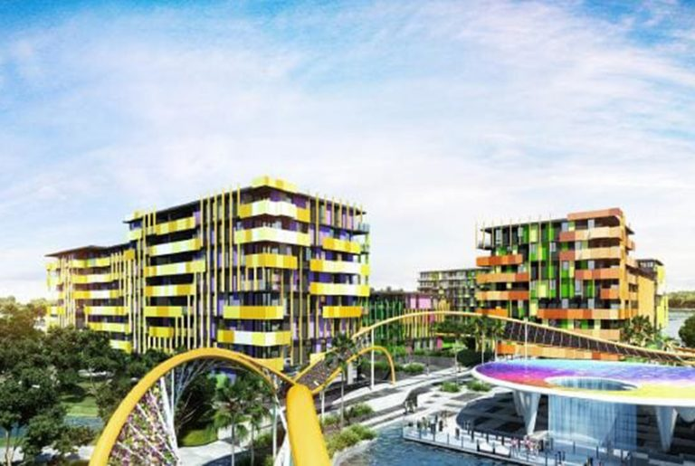 Griffith Uni buys first part of former Comm Games Village