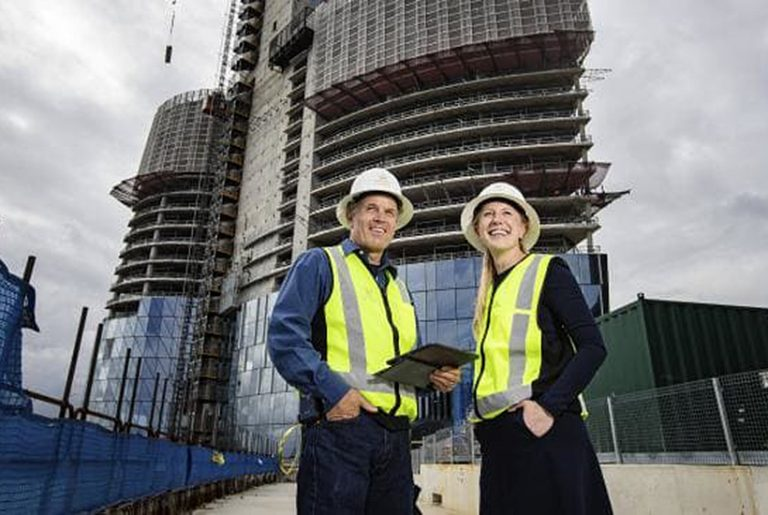 Crown Sydney reaches halfway mark