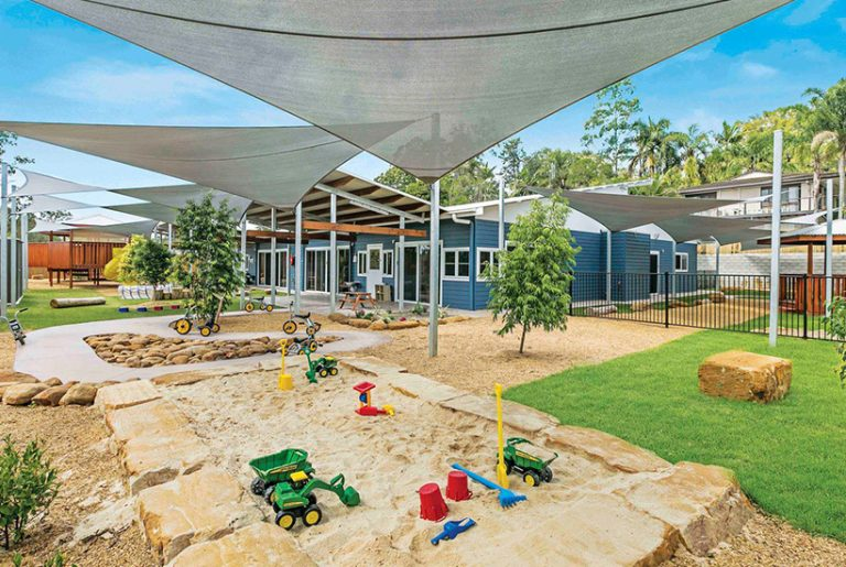 Location key for two Queensland childcare centres