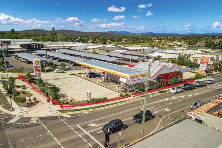 Ipswich servo to trade off prime shopping centre position