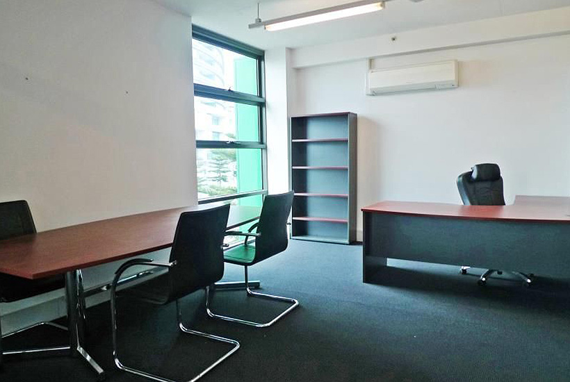 The GWS Giants' new office at Docklands.