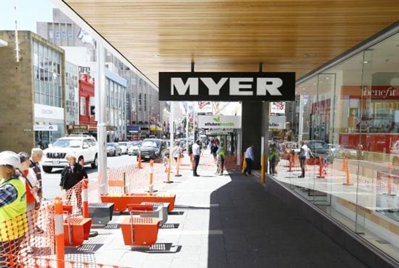 The newly constructed Hobart Myer. Picture: Matt Thompson.