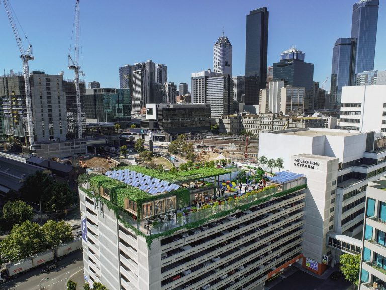 Melbourne carpark to become rooftop farm