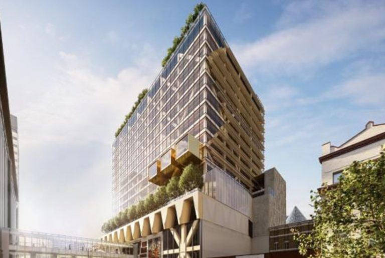 Timber tower to be built above Melbourne Central