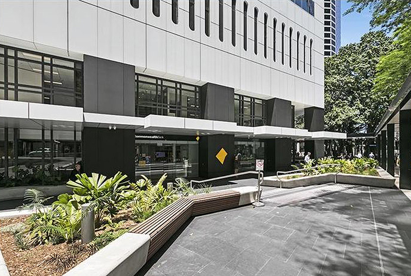 The office building at 66 Eagle St in Brisbane.