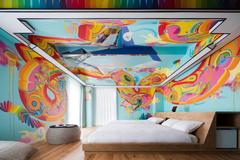 Immerse yourself in art at this Japanese hotel