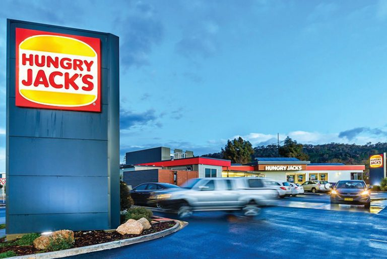 Hungry Jack's and childcare lead the way on big auction day