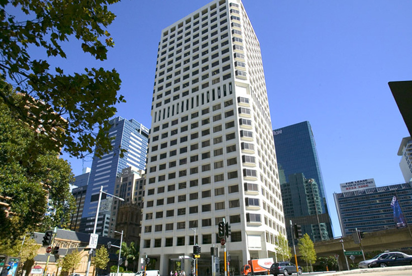 The office tower at 1 York St in Sydney.