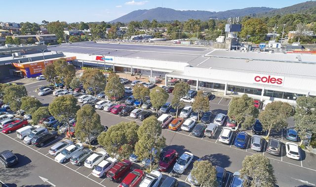 Neighbouring Coles and Kmart stores yours in one fell swoop