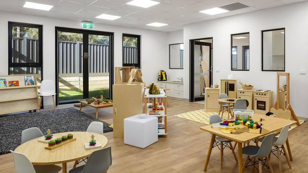 The home to a new childcare centre opened in Leopold this year is expected to sell for around $4.5 million at auction this month.