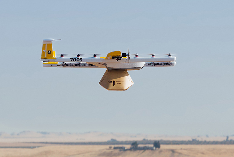 One of the Google drones. Source: Google.