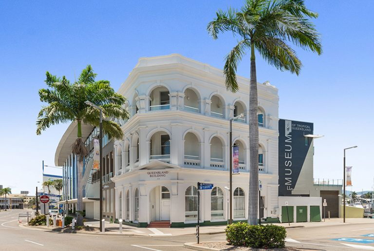Clive Palmer buys Townsville office as new headquarters