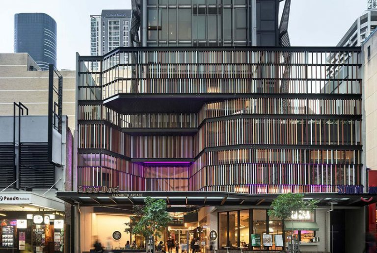 Student accommodation completes historic Brisbane arcade revamp