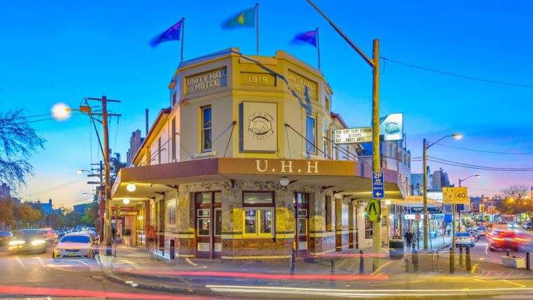 Pub barons double money on Balmain's Unity Hall Hotel