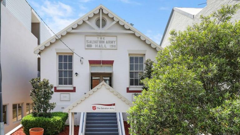 Salvos to sell Forest Lodge hall after more than a century