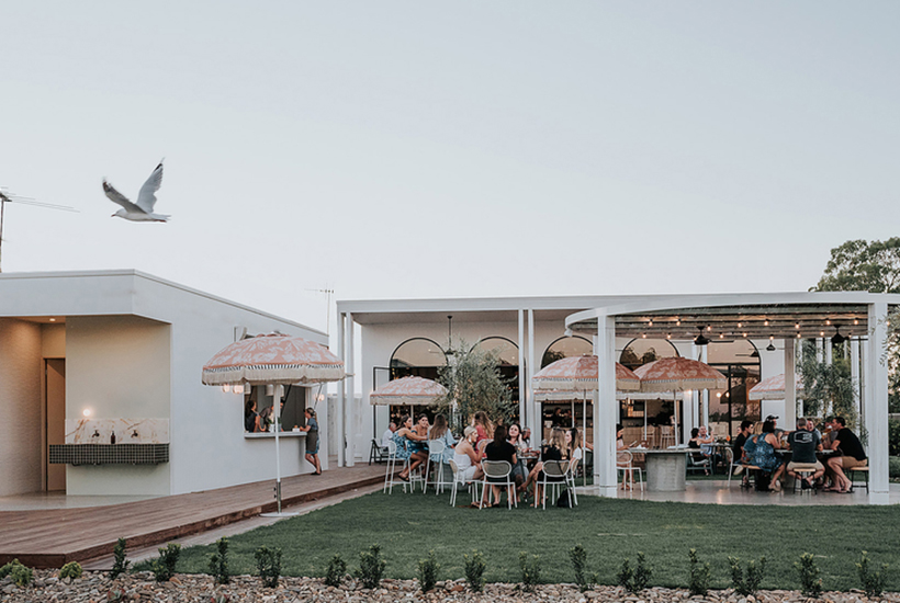 Blacksmith at Mulwala in NSW won 'Best Bar Design' at the 2019 Eat Drink Design Awards. Picture: Lillie Thompson